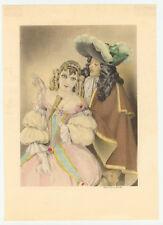 Print Brunelleschi - Gallant Scene Circa 1930's - Ready to frame