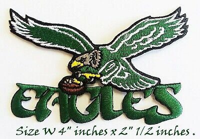 PHILADELPHIA Eagles Underdog 2018 SPORTS LOGO PATCHES EMBROIDERY IRON ON SEW ON
