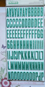 FITZGERALD-Glitter-Foam-TEAL-THICKERS-Letter-amp-Number-20-30mmHigh-Multi-ChoiceL5AF