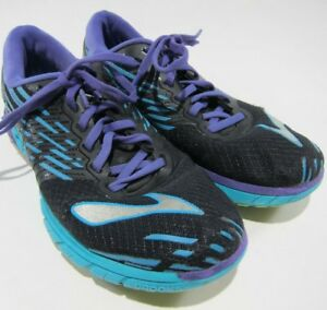 e4d52c799ba Brooks Pure Cadence 5 Womens 9 Running Shoes Purple Teal Black