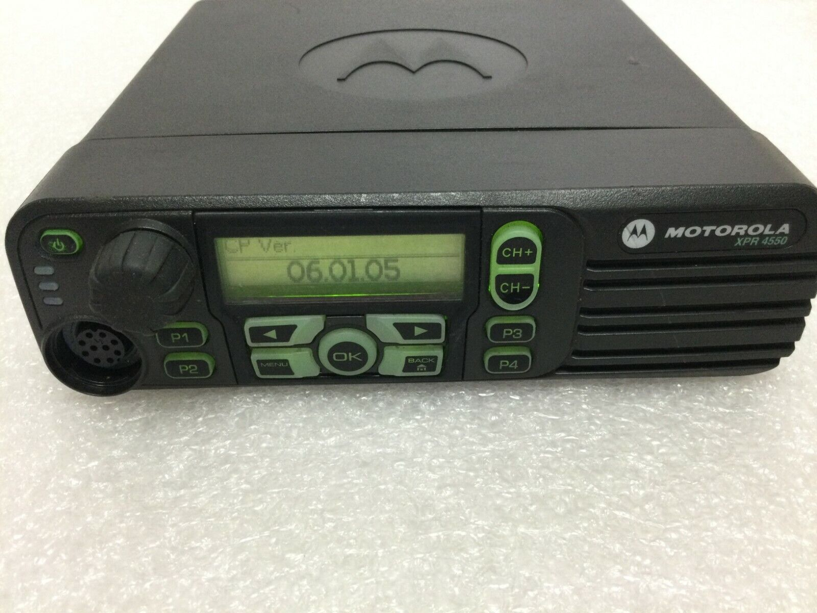 Motorola XPR4550 Two Way Radio AAM27QPH9LA1AN . Available Now for 190.00