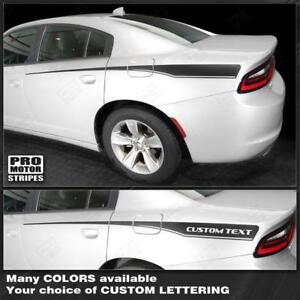 Dodge Charger 2015 2016 2017 2018 2019 Front to Rear Side Accent Stripes Decals