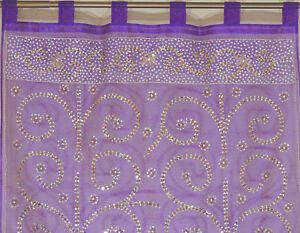 Purple-Curtain-Panel-Zardozi-Embroidered-Beaded-India-Window-Treatments-92-034