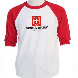 Swiss Army Victorinox Quot Logo Quot Baseball Amp T Shirts S M L Xl
