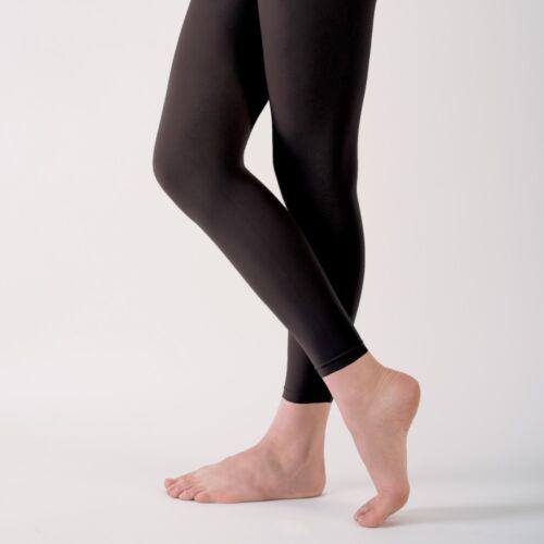 Capezio V1885 Essentials Footless Ballet Dance Tights Pink Black Light Suntan