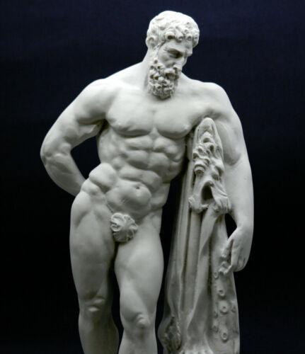 Farnese Hercules Heracles Griechische Besetzung Marmorskulptur Statue Kopie