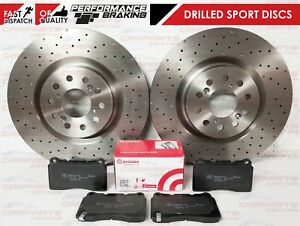 Renault Trafic 01-1.9 dCi 100 ELOC 100bhp Front Brake Pads Discs 305mm Vented