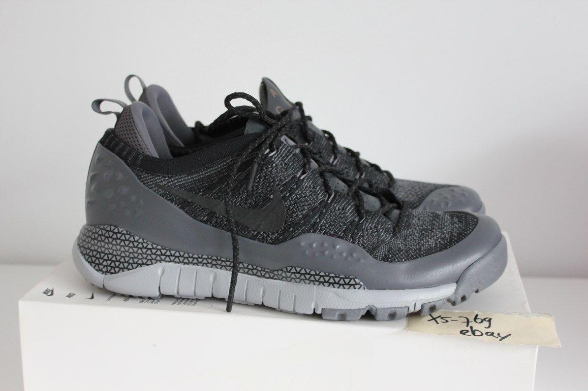 Nike Lupinek Flyknit ACG Low NikeLab 13 6.5 NSW QS Grey Nero Oreo 853954-001 39