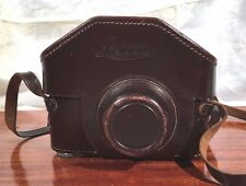 "Vintage LEICA IIIa b c f High Top Leather EVER READY CAMERA CASE 3/8"" BIG Screw"