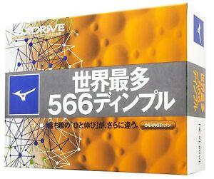 Mizuno-JAPAN-JPX-NEXDRIVE-Golf-Ball-Balls-2018-Japanize-Model-1-Dozen-Orange
