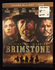 Brimstone (Blu-ray/DVD, 2017, 2-Disc Set)