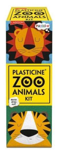 Laguna-Plastilina animales del zoológico Kit-Hace 6 animales