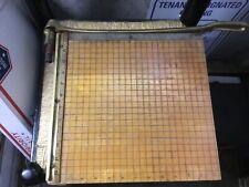 Ingento Paper Cutter Heavy Duty Photo Wood Craft Machine Cutting Board 12