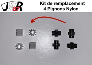 TGV-HJ-Jouef-Lima-Collection-Kit-de-Remplacement-4-Pignons-Nylon-Essieux