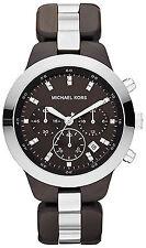 Michael Kors MK5611 Black Dial Black Ceramic Band Chronograph Women's Watch
