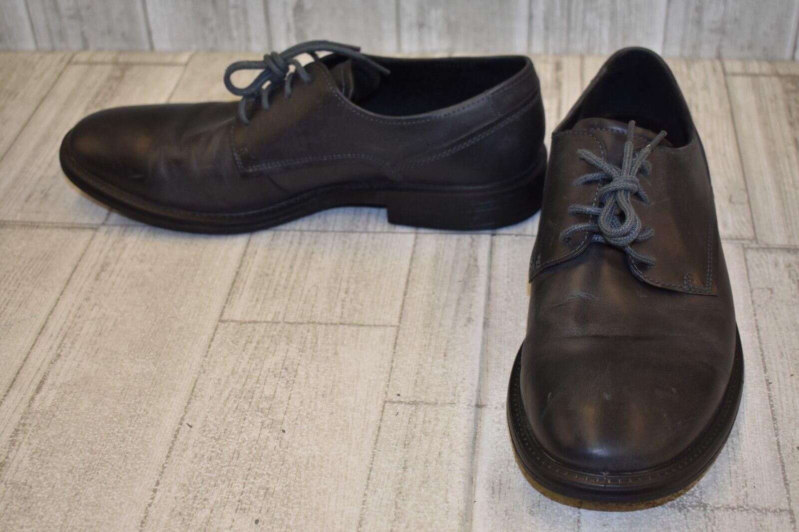 ECCO Knoxville Derby Cap Toe shoes - Men's Size 11 - Moonless