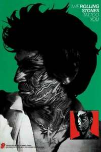 Details About Rolling Stones Tattoo You Keith Poster New