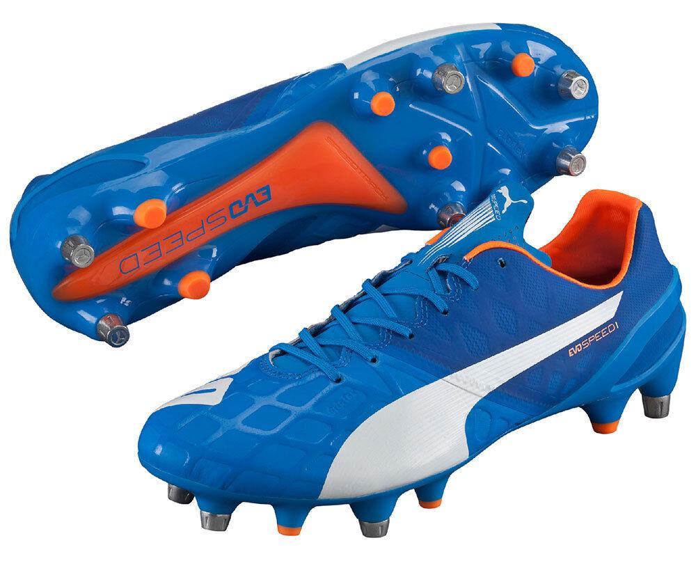 Puma EvoSpeed 1.4 SG Hombre botas De Fútbol