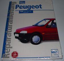 Reparaturanleitung Peugeot 106 Baujahr 1991 - 1995 Benziner NEU Bucheli!