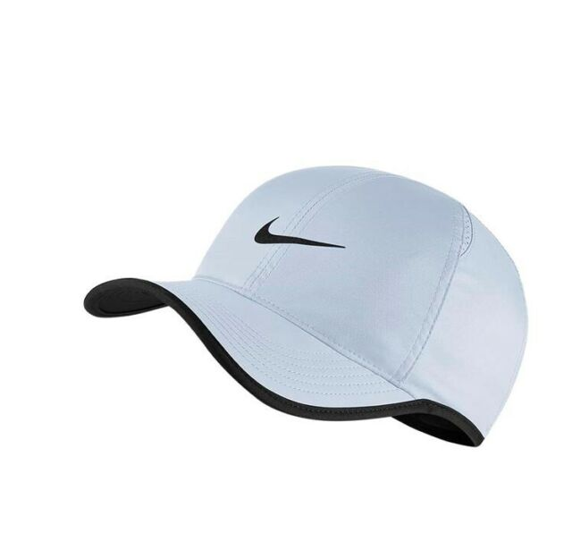 New Nike Adult featherlight Aerobill Run Tennis Cap Adjustable OFSM 679421 442