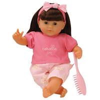 Mon Bébé Classique Brunette Baby Doll