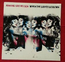 """When The Lights Go Down 12"""" 1st  Vinyl (Armand Van Helden) UL1337 (USA) EX/NM-"""