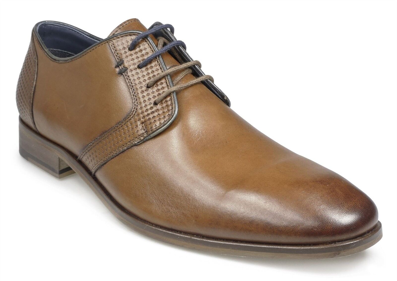 Paul O'Donnell Herren Geschnürte Formelle Schuhe Tampa in Cognac größen