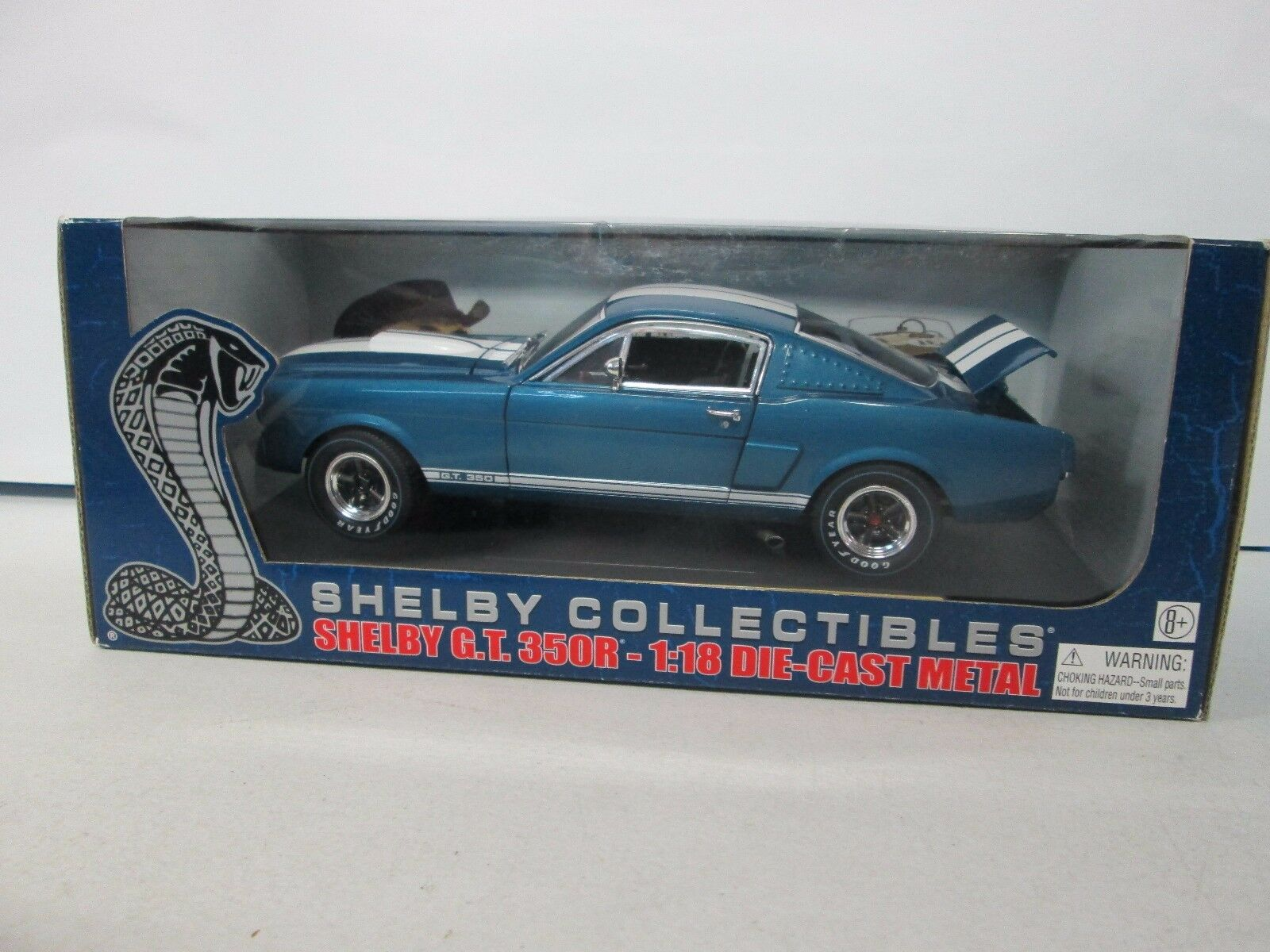 Shelby Collectibles Shelby G.T. 350R bluee 1 1 1 18 51f9d9