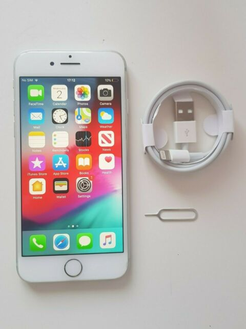 Apple iPhone 8 - 64 Go-argent (débloqué) Smartphone ** EXCELLENT ÉTAT **