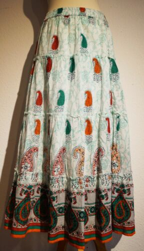 38 Himalaya 100 Gonna organico Maxi cotone 36 di Fairtrade H201 Baum lana Px0dwq77O