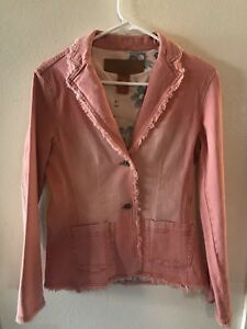Juniors Blue stretch Christopher donna piccola Pink Womens Taglia Blazer tq6awXX