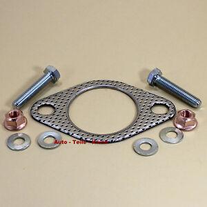 Auspuff-Dichtung-fuer-Abgasanlage-Abgaskruemmer-Katalysator-mit-Montageteile