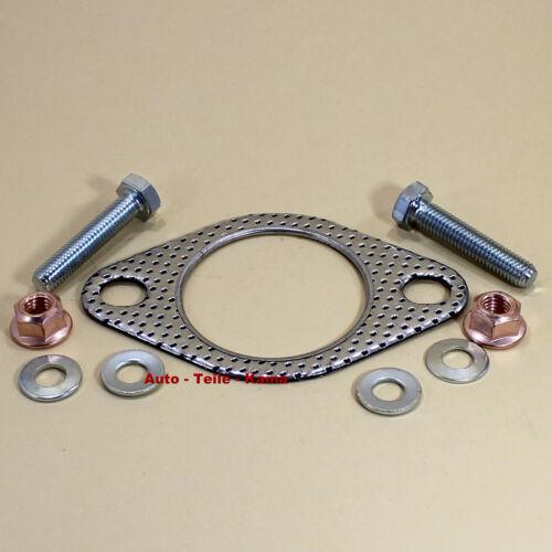 Abgaskrümmer Auspuff Dichtung für Abgasanlage Katalysator mit Montageteile