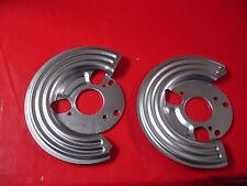 mopar chrysler  A B E body cuda charger disc brake dust shields backing plates