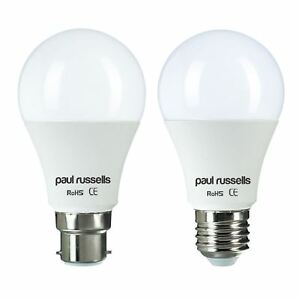 5W-6W-7W-10W-12W-15W-BC-B22-ES-E27-Warm-Day-White-LED-GLS-Light-Bulb
