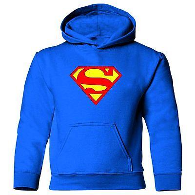Superman Blu Bambini Unisex Tv Cartoon Ragazzo Ragazza Felpa Con Cappuccio Felpa Con Cappuccio.-mostra Il Titolo Originale Ultima Tecnologia