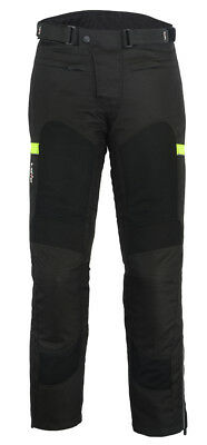 Realistico Pantalones Perforados De Verano Para Moto (unisex)