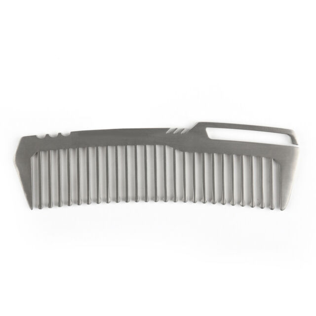 Titanium Pocket Comb Portable Hair Beard Tool Unisex Cool Men's Gift BANG TI P5