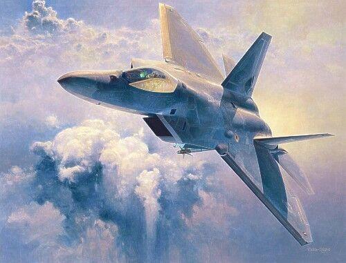 Hasegawa 1 48 Boeing F-22A Raptor PT045