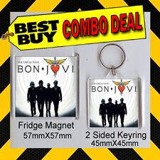 Bon Jovi Album Combo - The Circle Tour  KEYRING AND FRIDGE MAGNET - NOT CD