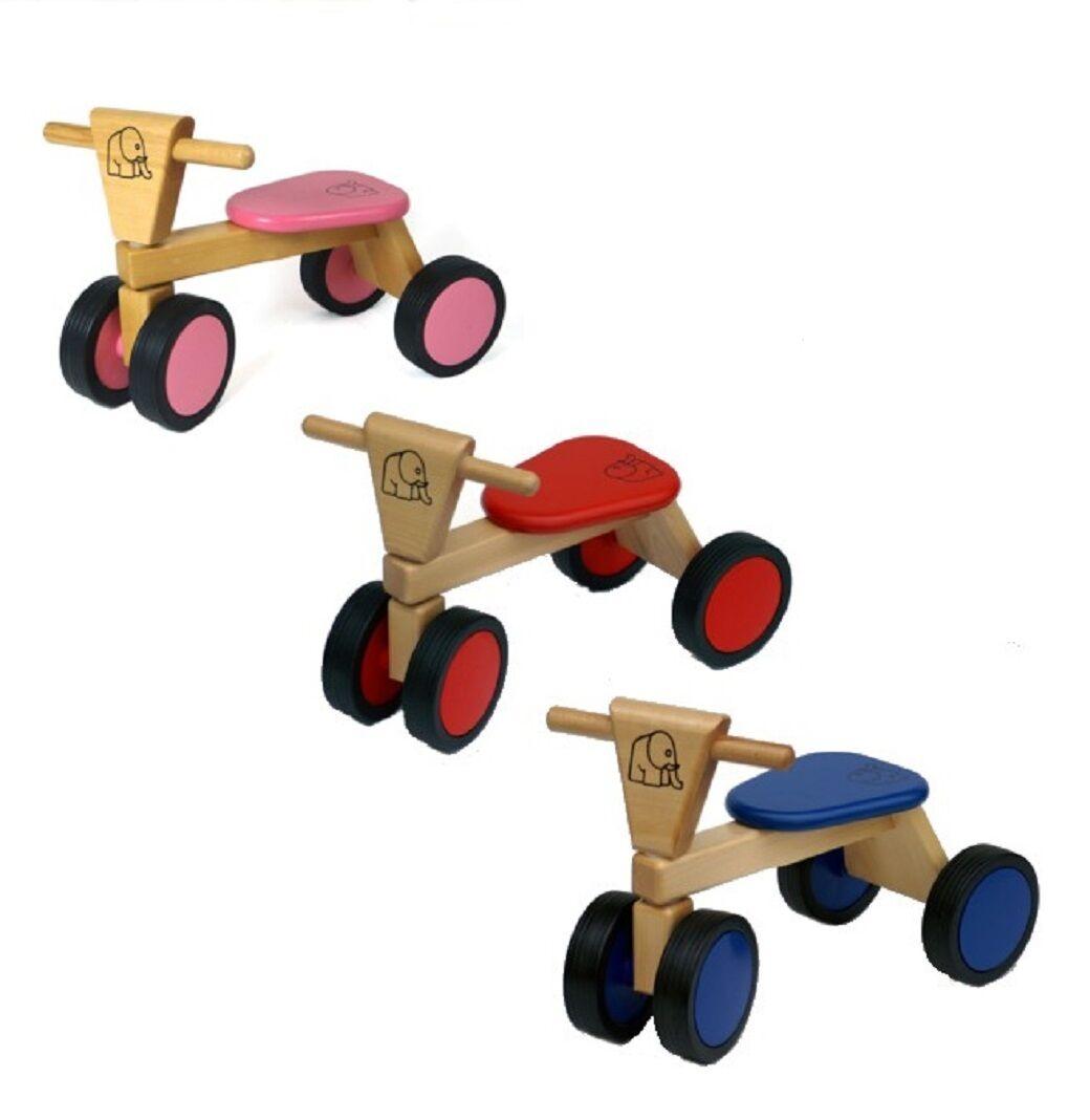 Speel goed Trike Holz Rutschfahrzeug Laufrad Rutscher v. bueren speelgoed
