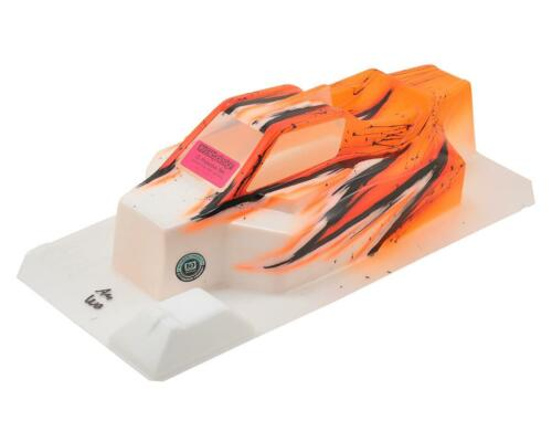 """Wave//Orange Bittydesign /""""Force/"""" TLR 8ight 4.0 1//8 Pre-Painted Buggy Body"""
