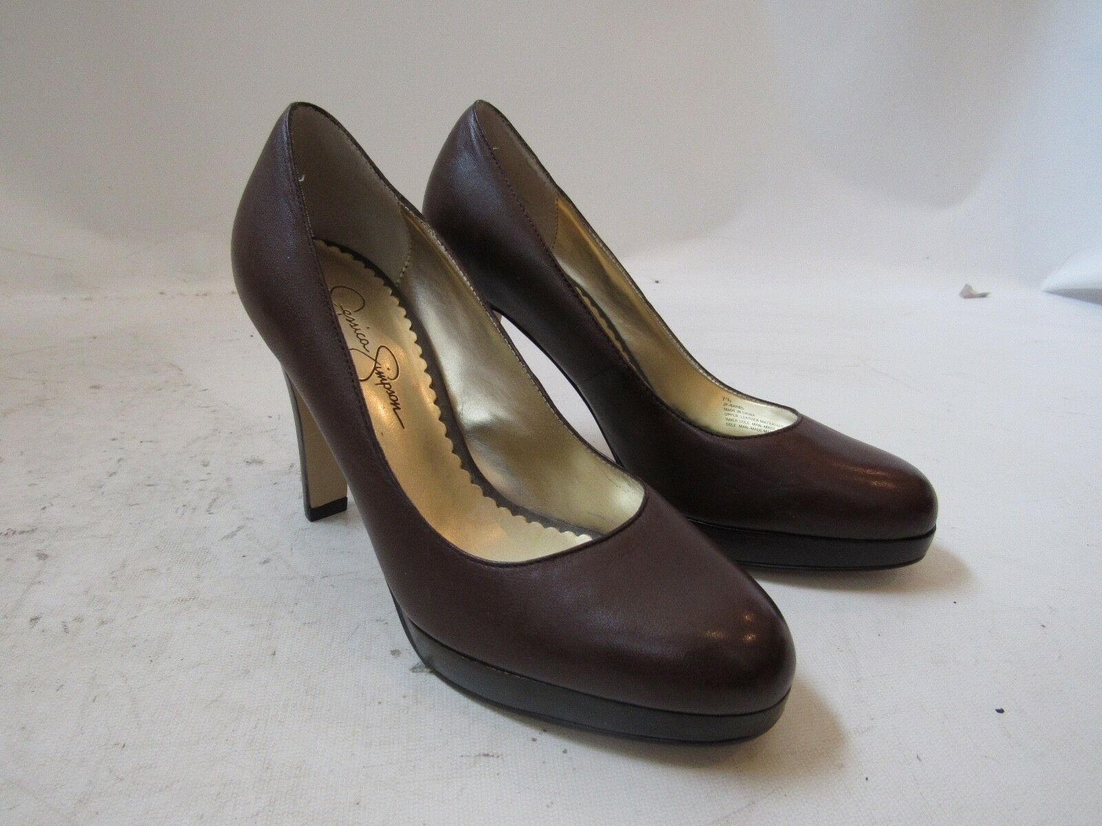 Jessica Simpson Brown Platform Heel Size 7.5 B