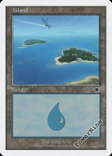 #160 Land Starter 1999 Mtg Magic Basic Land 1x x1 1 Island