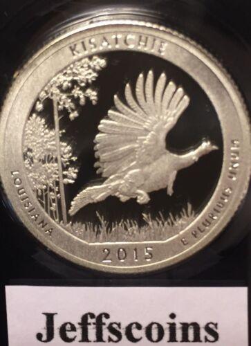 2015 S Kisatchie National Forest Clad Proof QUARTER Louisiana Park Lowest Price