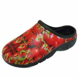 LADIES-GARDENING-CLOGS-LIGHTWEIGHT-SLIP-ON-OUTDOOR-GARDEN-MULES-SHOES-UK-4-8