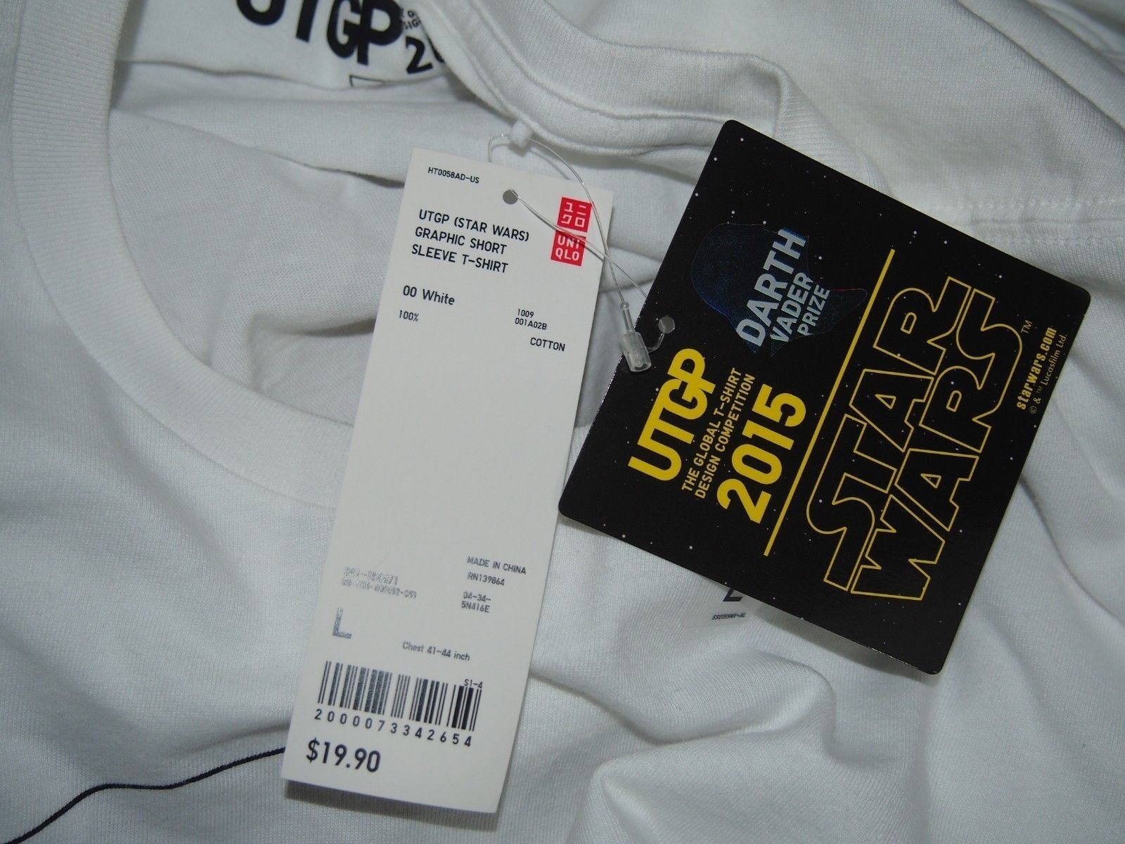 Uniqlo 2015 Grand Prix Star Wars Limited Edition T-shirt T-shirt Edition Uomo's size Large af6a72