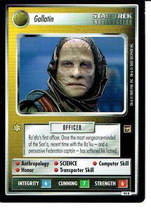 Details about STAR TREK CCG THE MOTION PICTURES RARE CARD GALLATIN