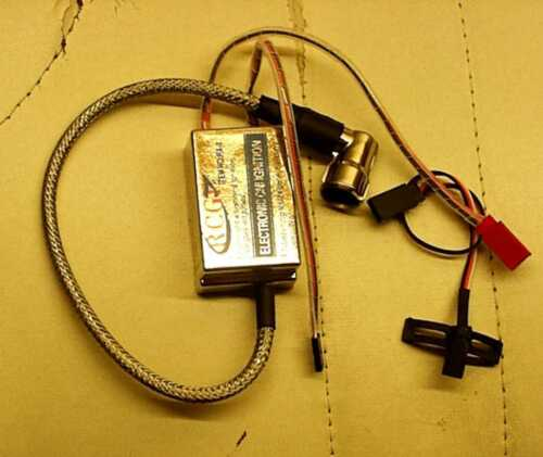 Ignition Complete 4,8-8,4v for Single Cylinder 3w AGM DA DLE DLA Curzon Moki RCGF zdz
