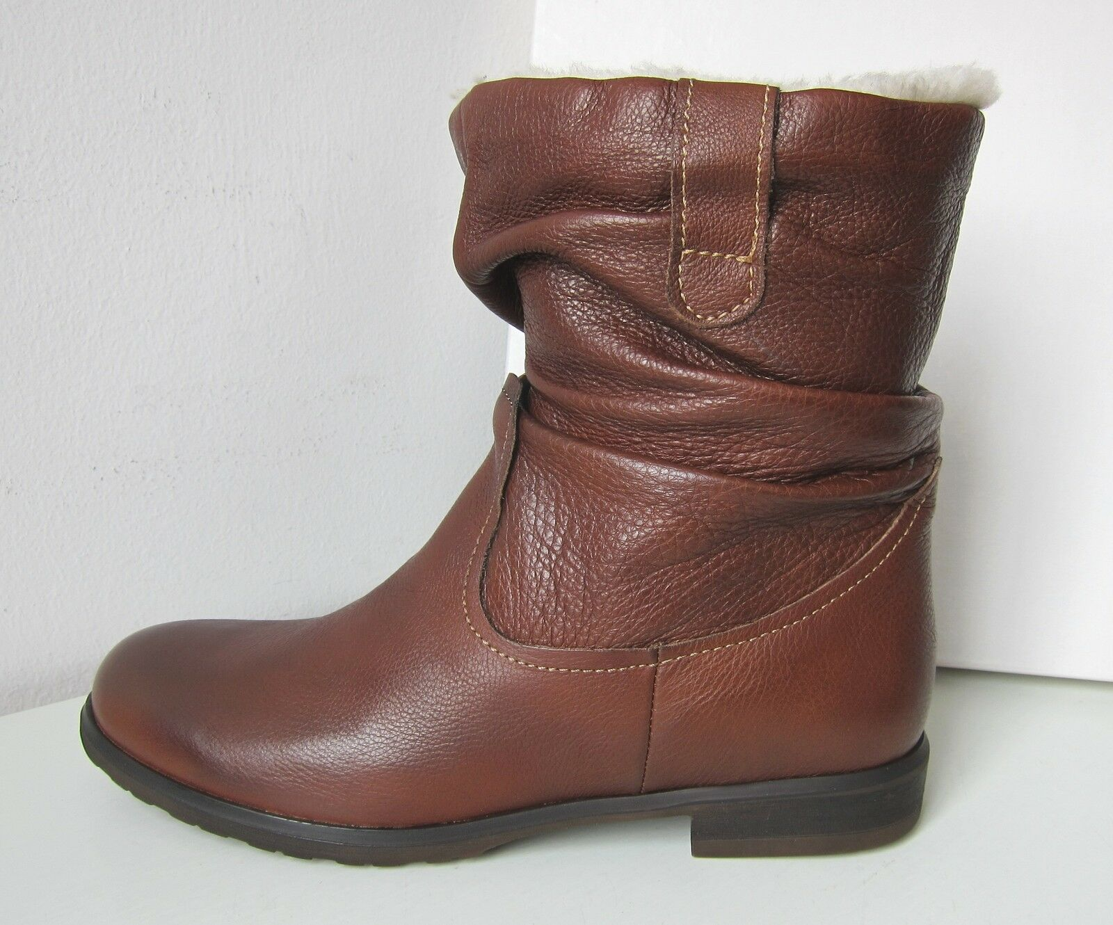Tamaris Stiefelette Stiefel cognac brown 36 Fell Stiefel Boots brown bootee warm
